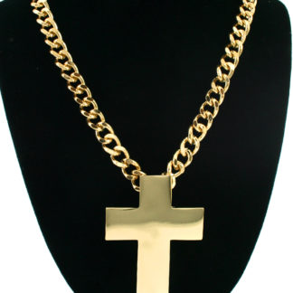 """Celebrity Inspired Gold """"BOSS"""" Chain Link Necklace ..."""